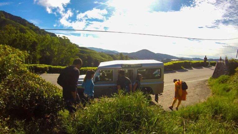 dois dias em Cameron Highlands