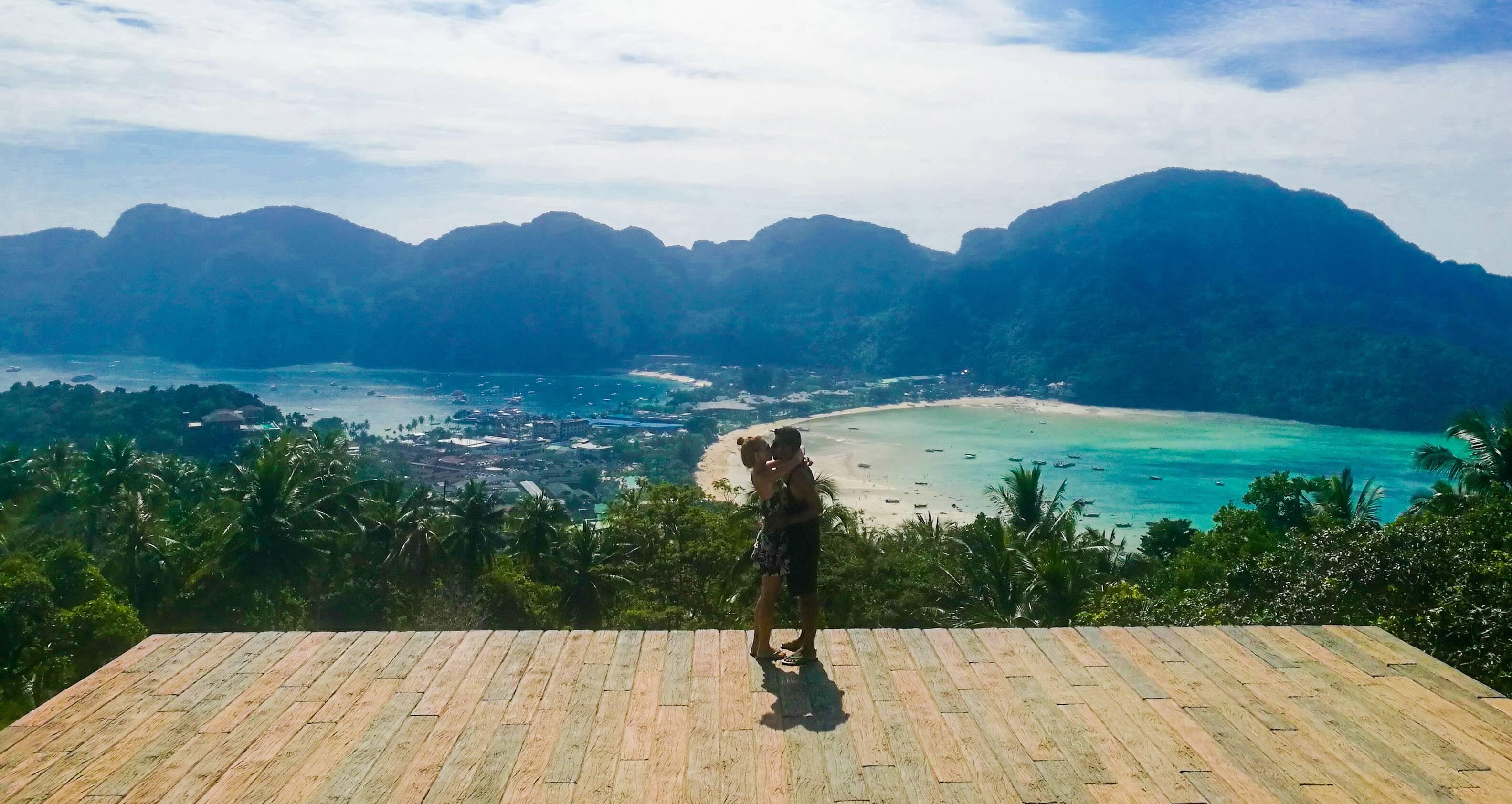 Viewpoints em Koh Phi Phi