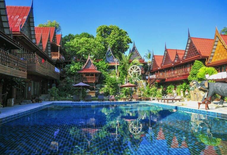 Piscina do Anda Resort em Koh Lipe, Tailândia. | Foto: divulgação - onde ficar em koh lipe