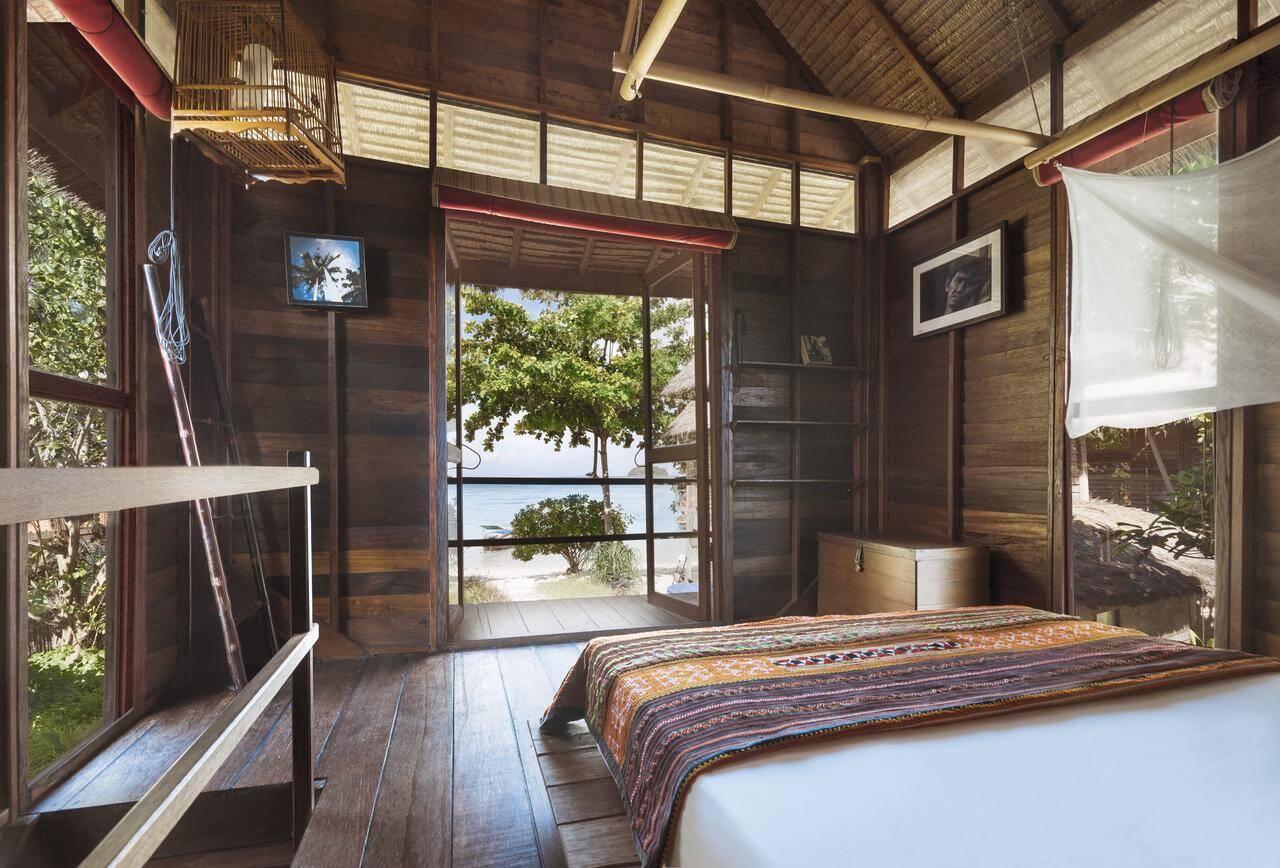 Suíte beira-mar do Castway Resort - Onde ficar Koh Lipe
