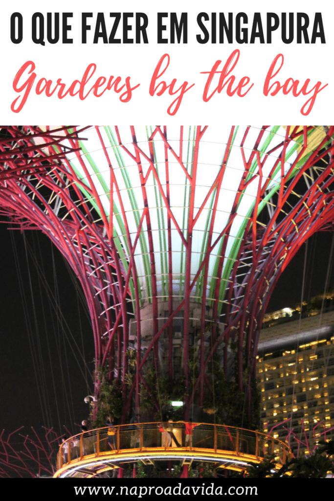 Gardens by the Bay: O jardim cartão-postal de Singapura