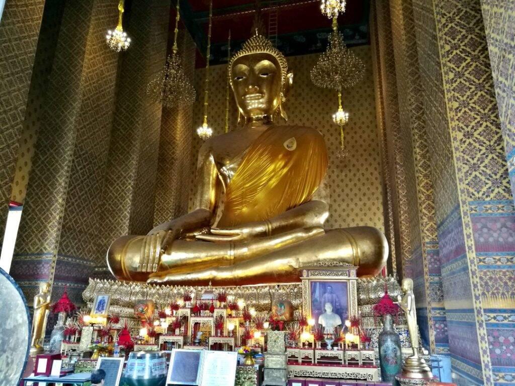 Templos em Bangkok na Tailândia