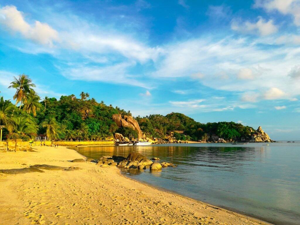 Praia de Chalok pela tarde - Chalok beach