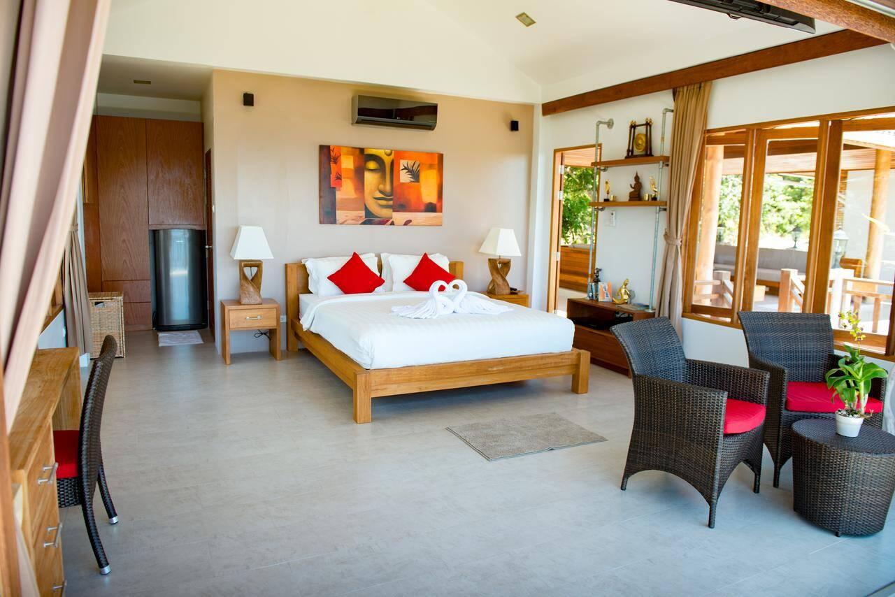Suíte do Perfect View Pool Villa em Sairee