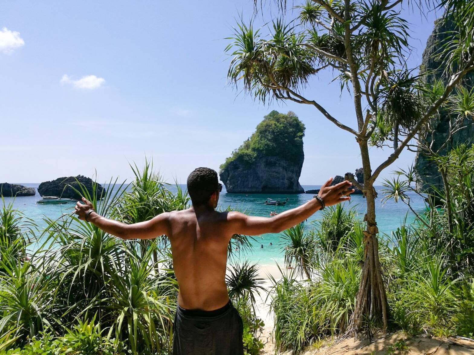 Dia de caiaque em Koh Phi Phi