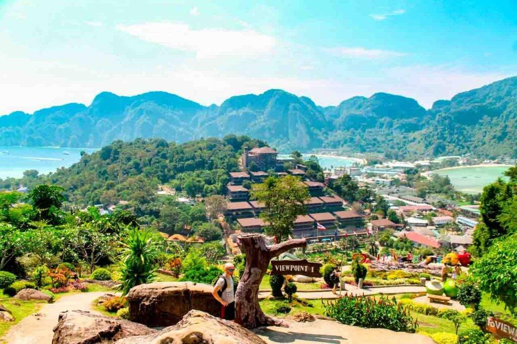 Viewpoint em Phi Phi, Tailândia