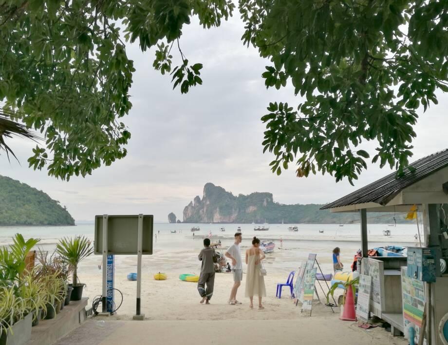 Vista da Loh Dalum Beach, em Koh Phi Phi