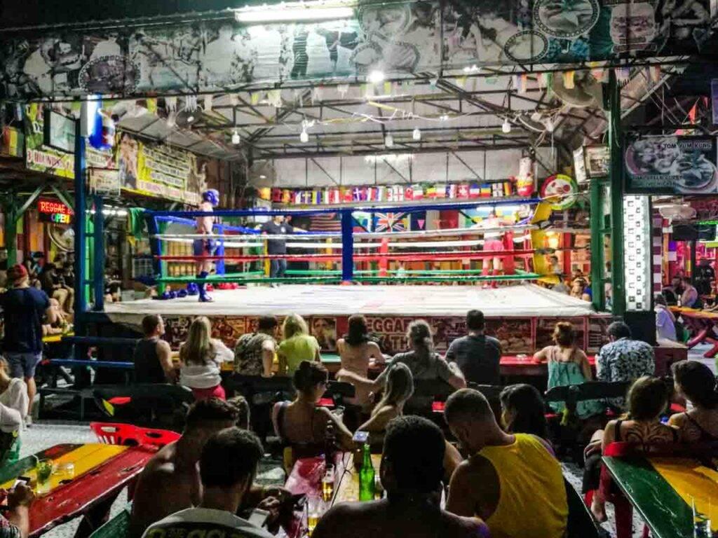 Reggae Bar Phi Phi - Muay Thai na Tailândia