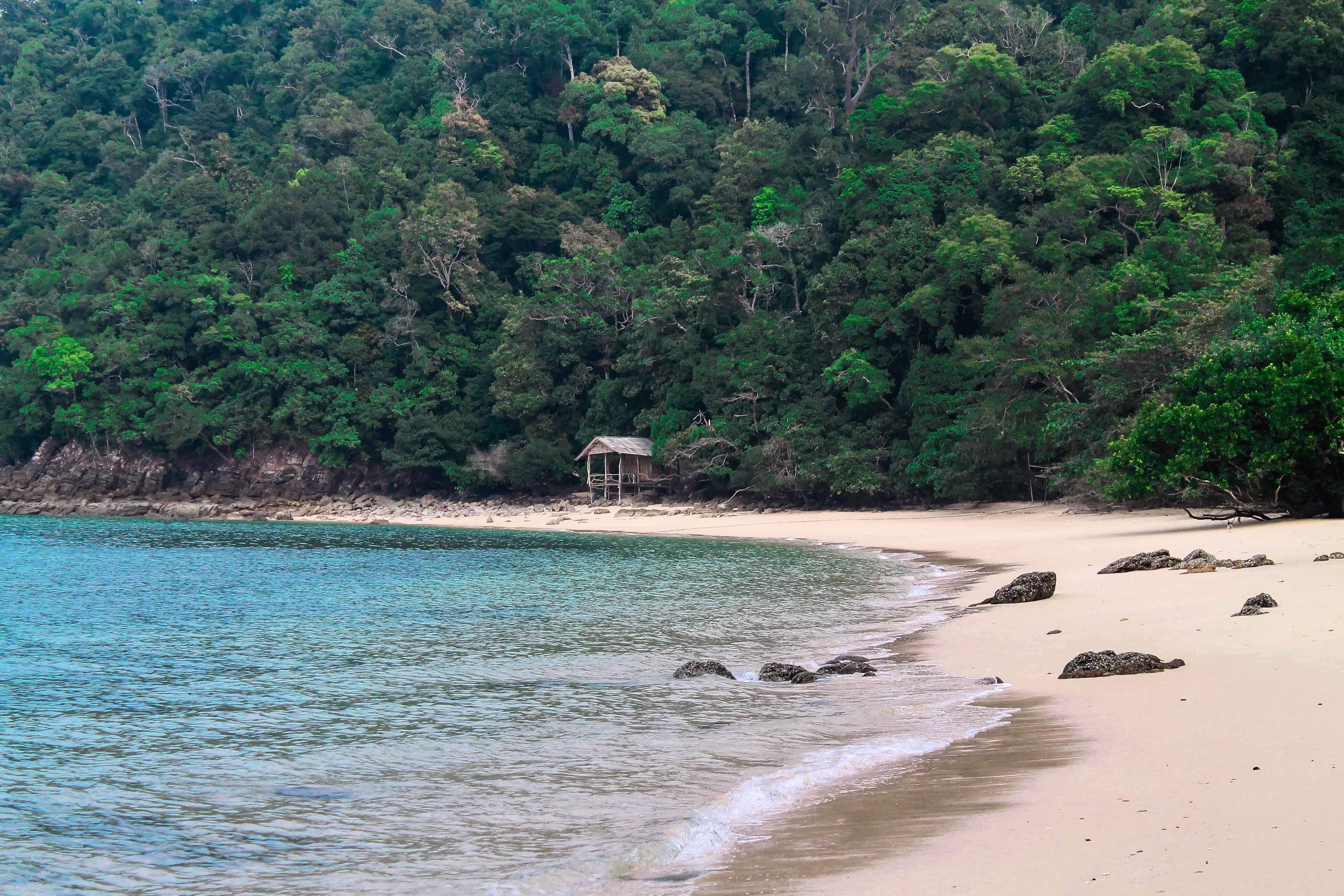 Ao Kwang Peeb, uma das praias que mais gostamos em Koh Phayam