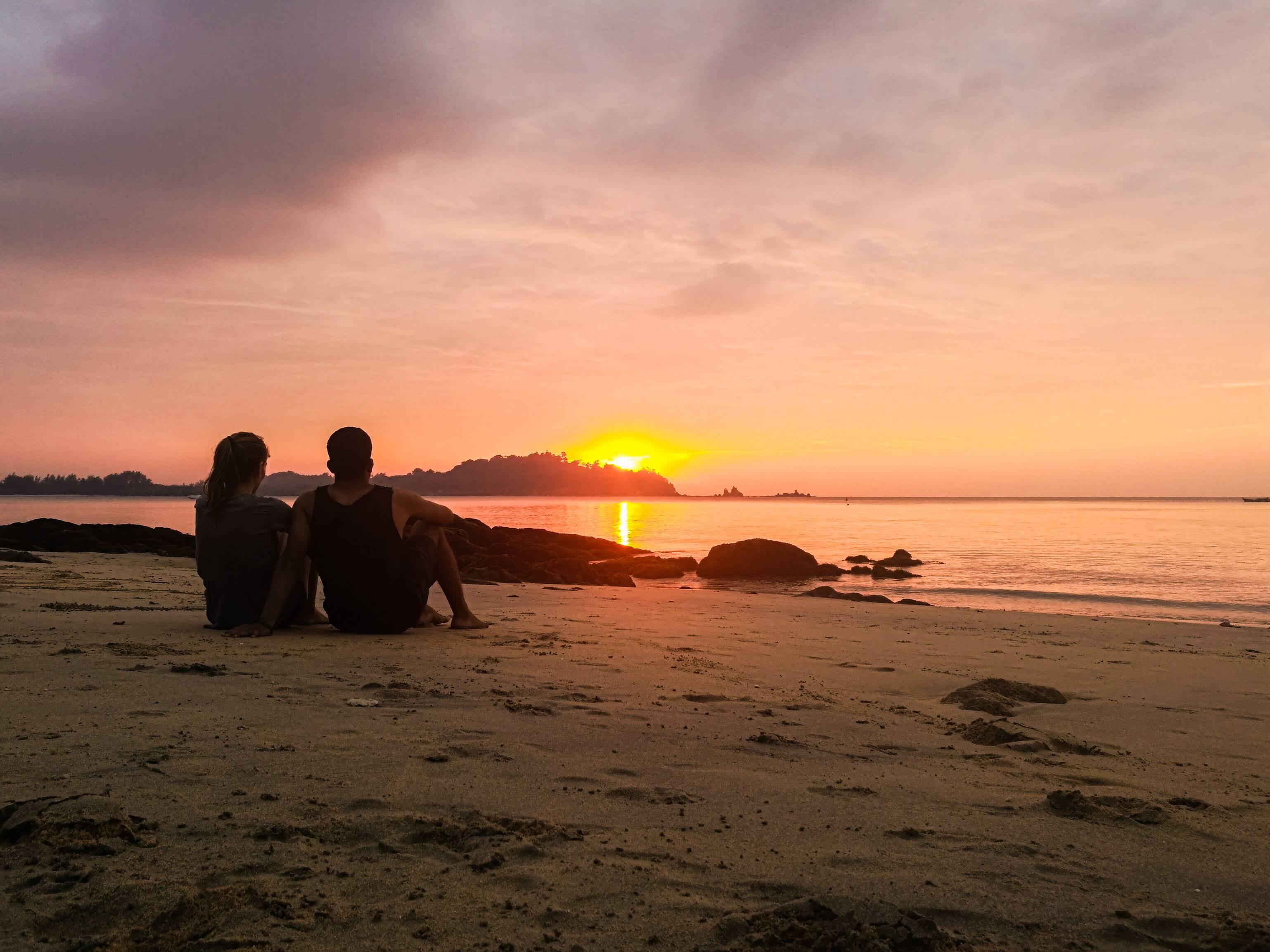 Pôr do sol em Khao Kwai, Buffalo Bay - Koh Phayam