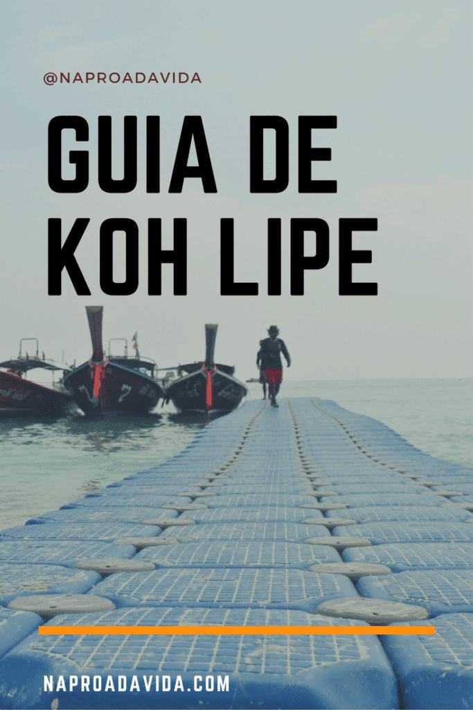 Koh Lipe: a ilha queridinha e paradisíaca no sul da Tailândia