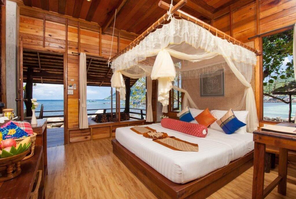 Sensi Paradise Beach Resort - Mae Haad - Onde ficar em Koh Tao
