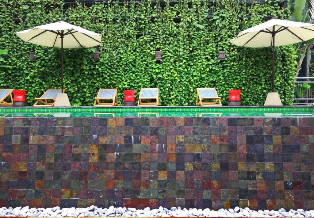 Piscina do Baan Saen Fang Hotel | Foto: reprodução - Onde ficar em Chiang Mai