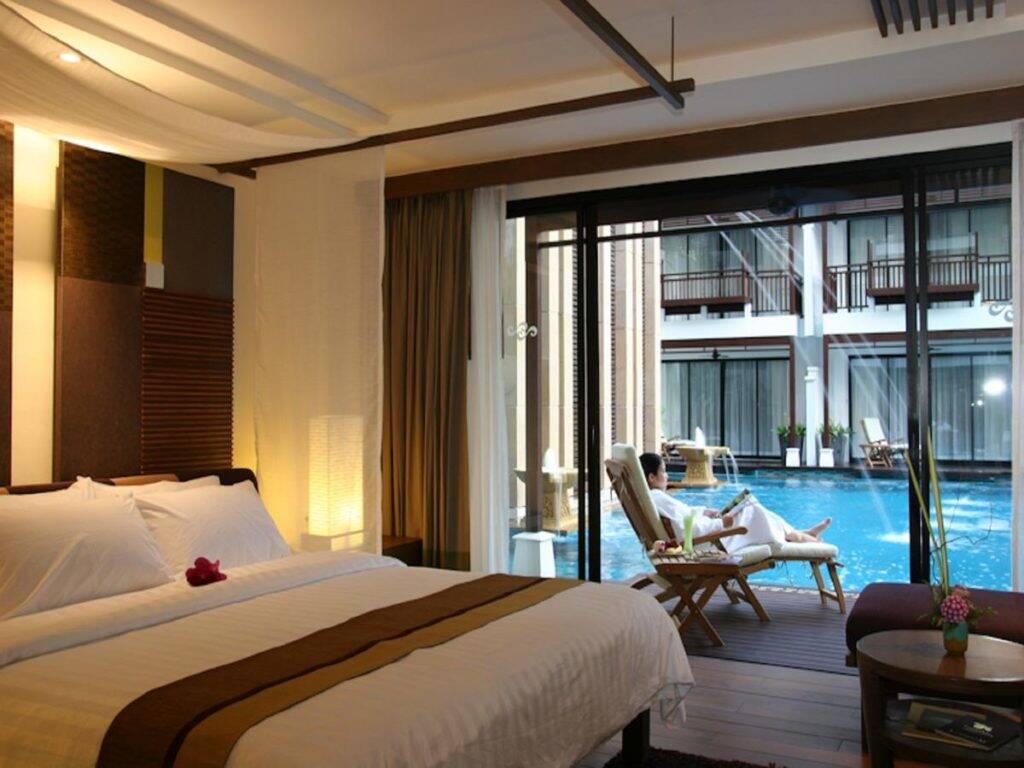 Quarto do Rarin Jinda Wellness Spa Resort | Foto: divulgação - onde ficar em Chiang Mai
