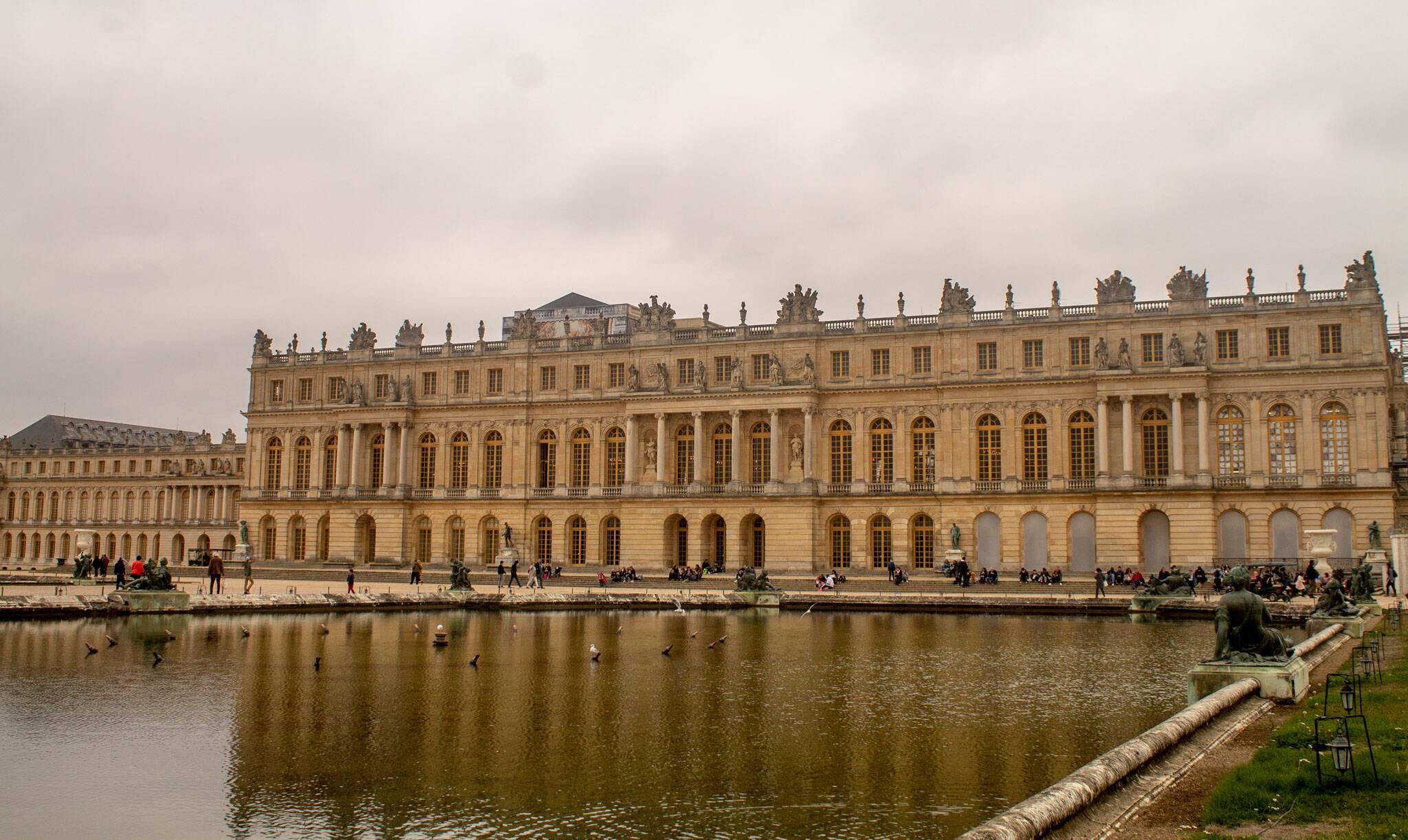 Palácio de Verseilles, perto de Paris.