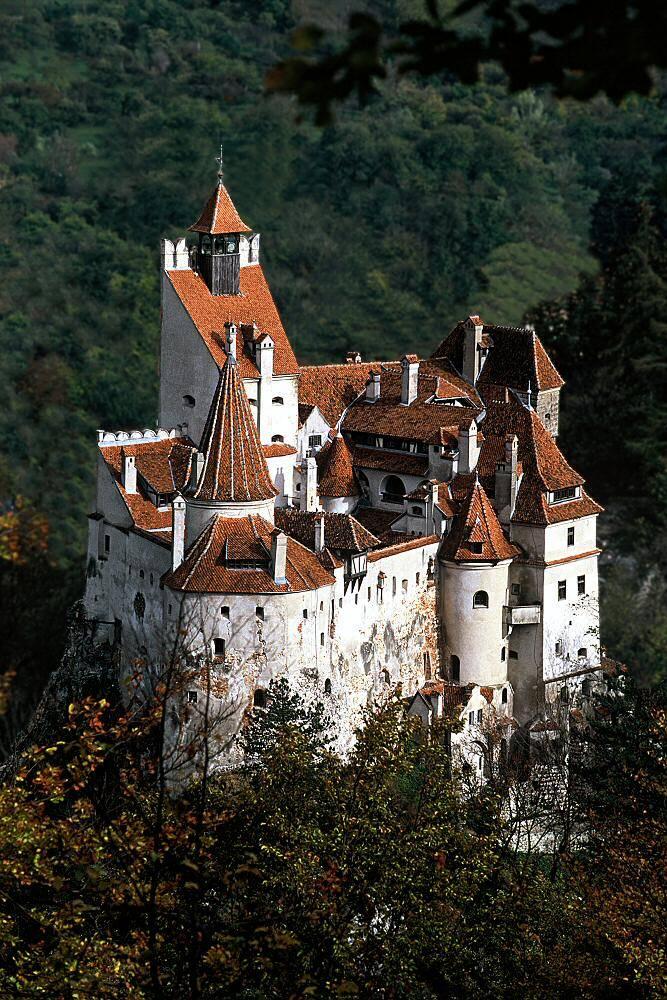 O Castelo do Drácula, chamado Bran Castle.