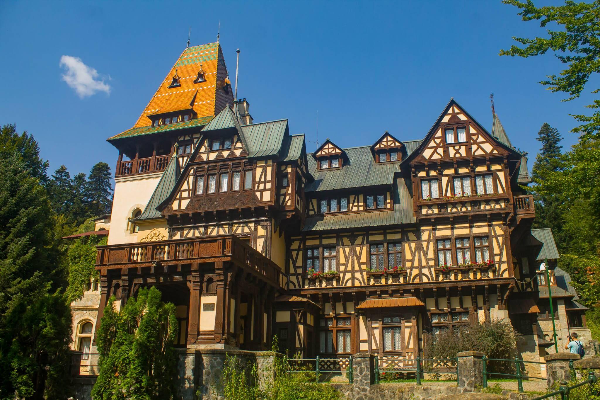 Castelo Pelisor, na Romênia