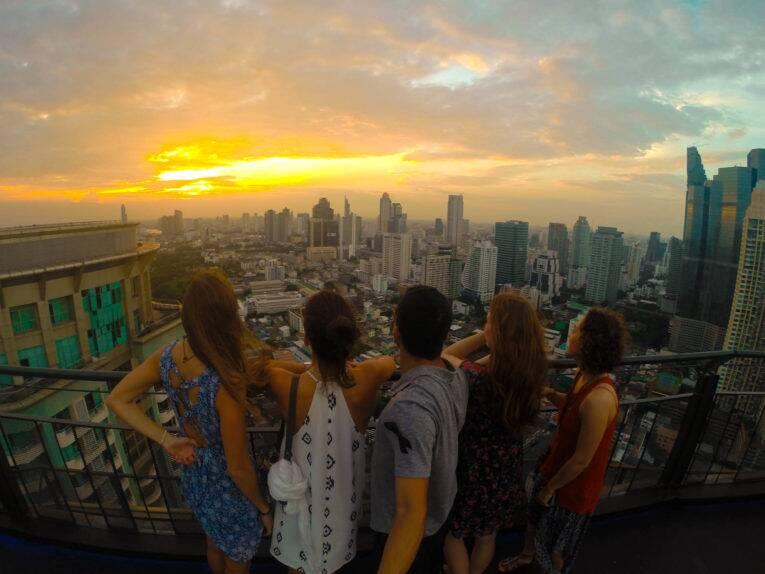 Rooftop bar no Zoom Sky Bar | Foto: Bruno/@naproadavida