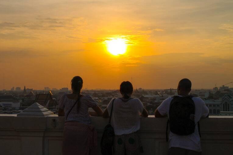 Lugares perfeitos para ver o pôr do sol em Bangkok, na Tailândia