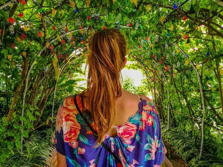 Um dos lugares mais lindos nos jardins do Kek Lok Si Temple | Foto: Bruno/@naproadavida