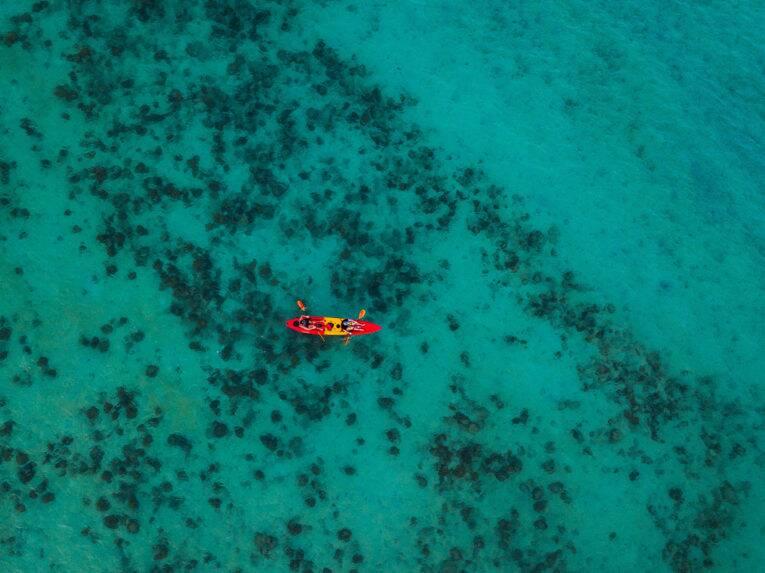 Foto de drone na Tailândia