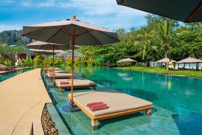 Piscina do PP Princess, um Hotel em Phi Phi