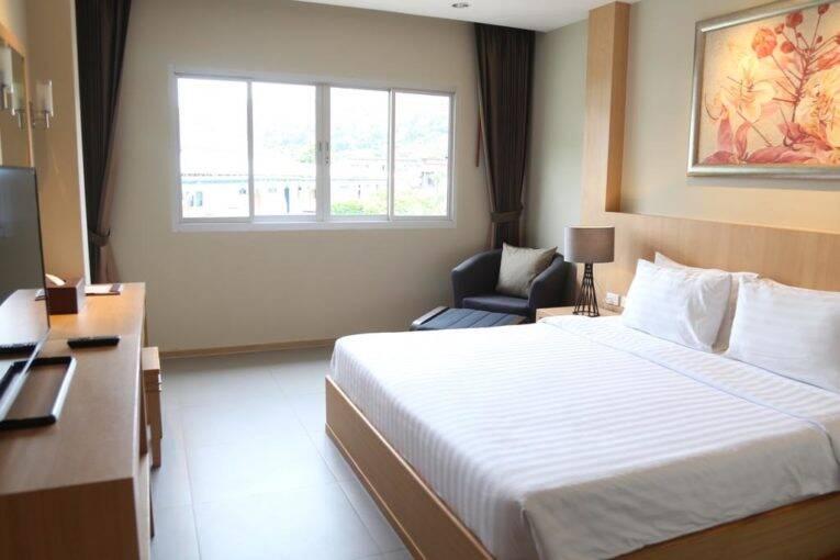 Quarto do PP Charlie Beach resort, um Hotel em Phi Phi