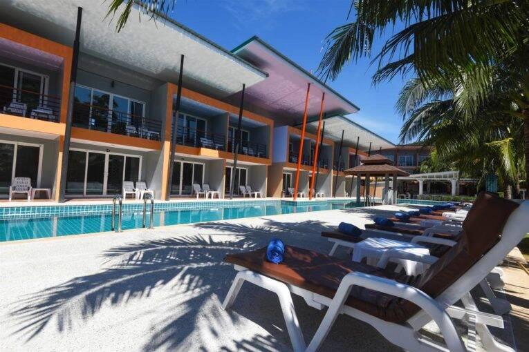 Piscina do Anita resort, Hotel em Phi Phi