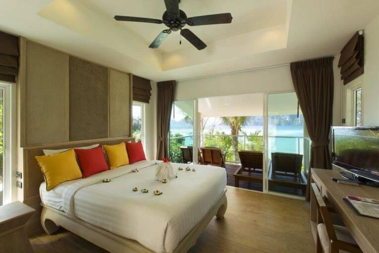 Quarto do Phi Phi Bayview Resort, um Hotel em Phi Phi