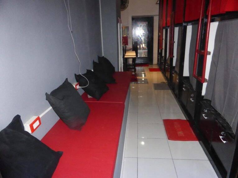 Dormitório do Dormsin Hostel em Phi Phi   Foto: divulgação.