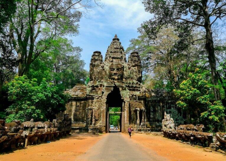 Camboja dá para viajar muito barato e bem!