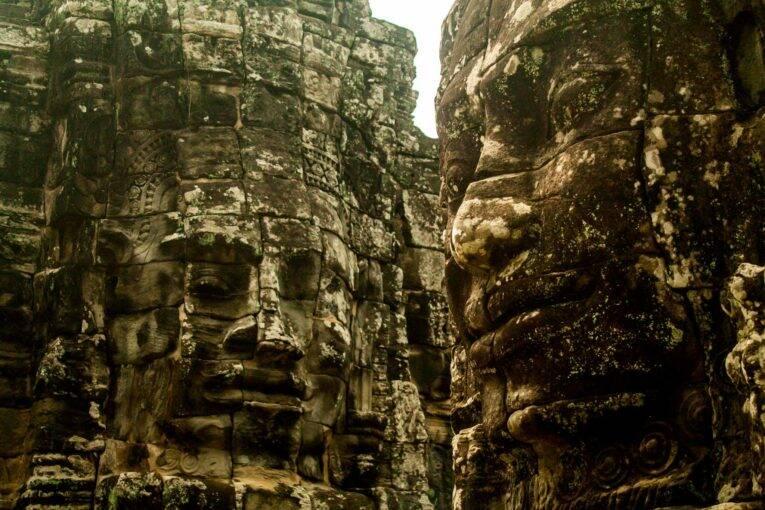 Bayon é um dos templos mais lindos do Complexo de Angkor.