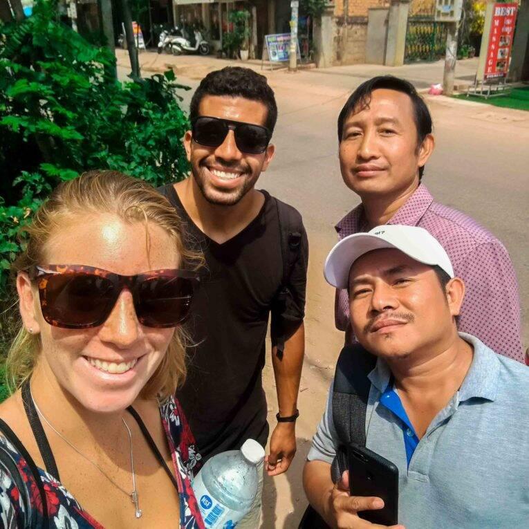 Nosso guia no Camboja