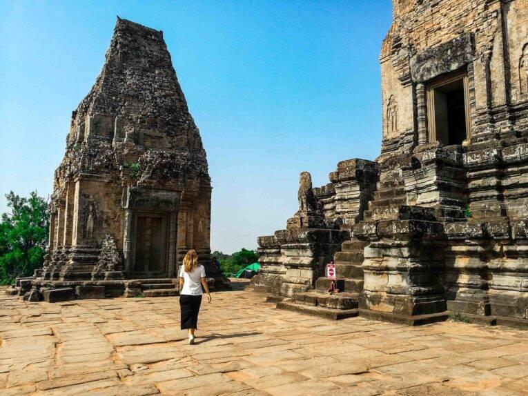 Siem Reap dicas de viagem pelo Camboja (Templo Pre Rup)