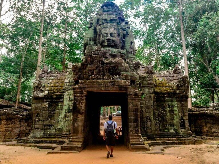Siem Reap Templo Ta Som