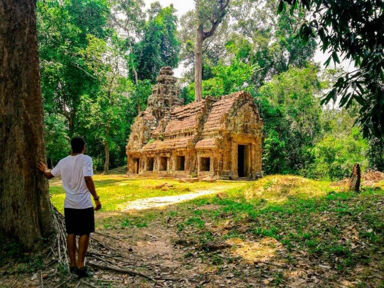 Siem Reap dicas de viagem pelo Camboja (Templo Preah Khan no Camboja)