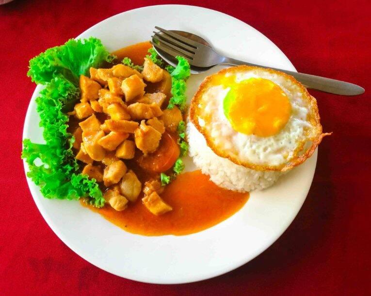 Siem Reap: Comida típica do Camboja