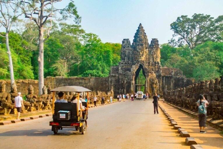 Roteiro ideal em Siem Reap no Camboja: visitando a cidade, templos de Angkor e arredores
