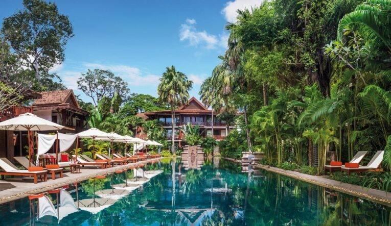 Belmond La Résidence dAngkor: hotel com piscina em Siem Reap.