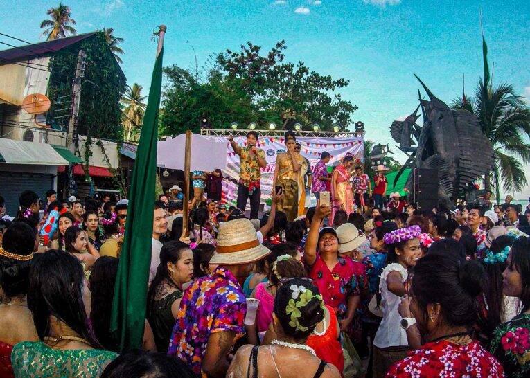 Songkran: ano novo tailandês