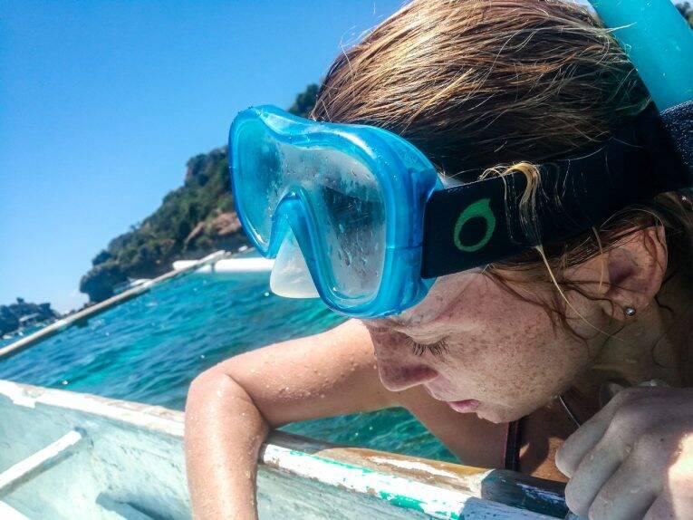 Snorkeling nas Filipinas. Apo Island