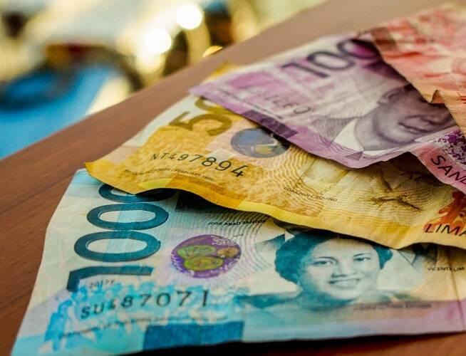 Dinheiro nas Filipinas. Apo Island