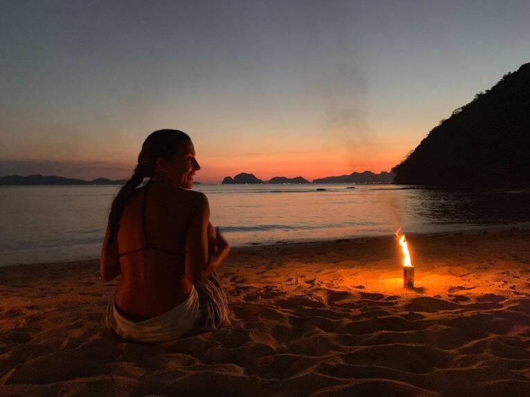 Os pôres do sol maravilhosos de uma viagem - @donatocarol - viajar e trabalhar