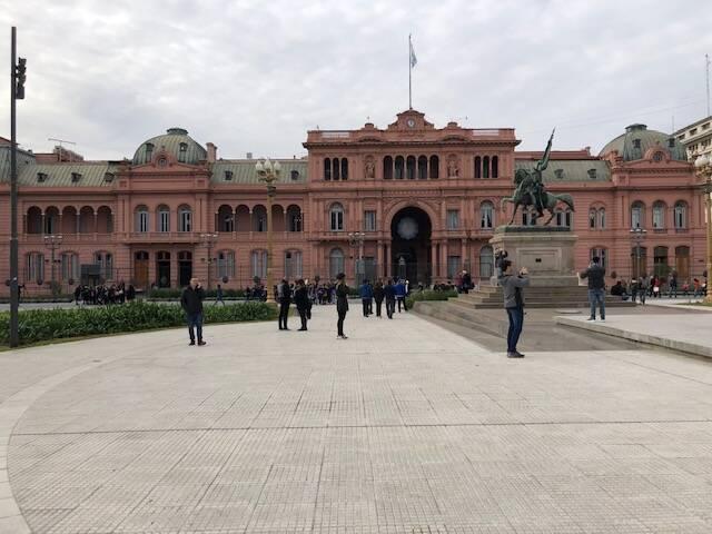 Casa Rosada em Buenos Aires.