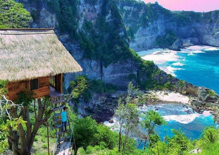 Rumah Pohon Tree House, a casinha na árvore em Nusa Penida. | Foto: divulgação/Booking