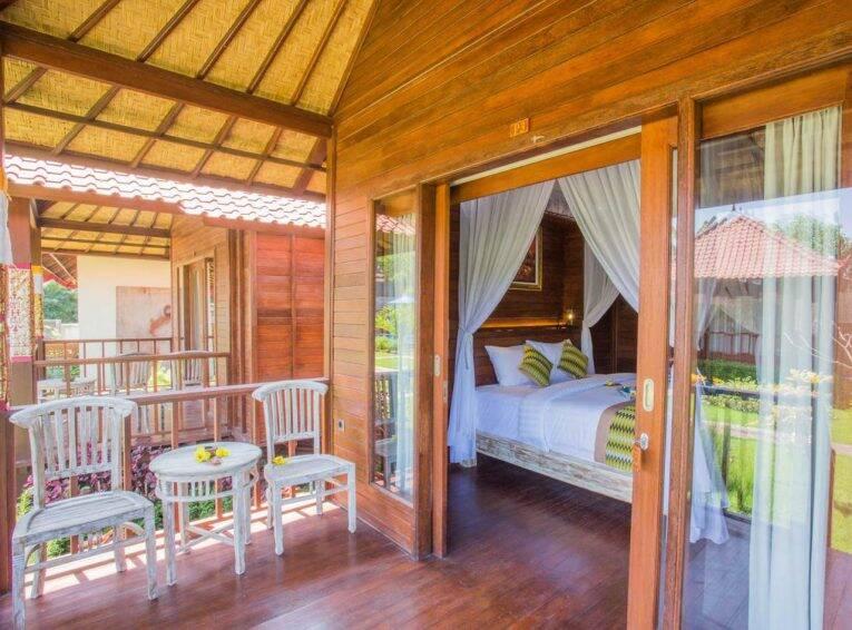 Bangalô do The Parnas em Nusa Lembongan | Foto: divulgação/booking