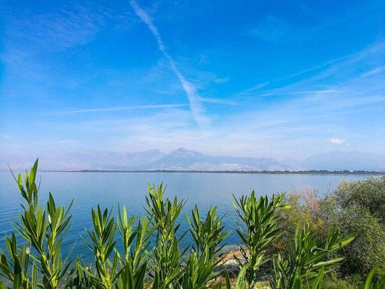 Lago Shkoder na Albânia