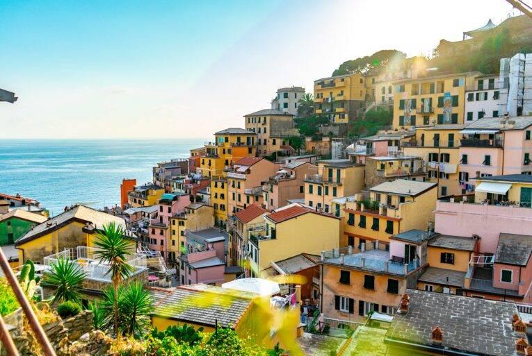 Mirante ao final da Via di Loca em Riomaggiore, Cinque Terre. Foto: Bruno/@naproadavida