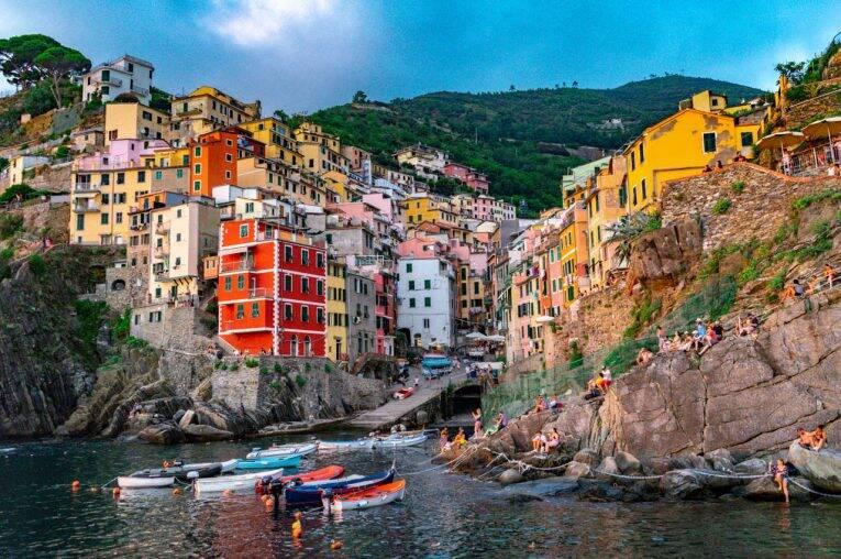 Riomaggiore, em Cinque Terre.