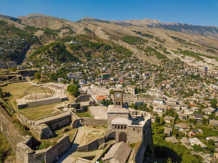 Gjirokaster na Albânia